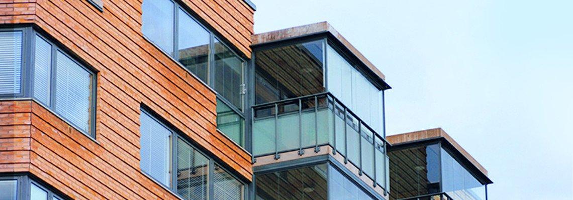 Balkonverglasung aus unserer Glaserei
