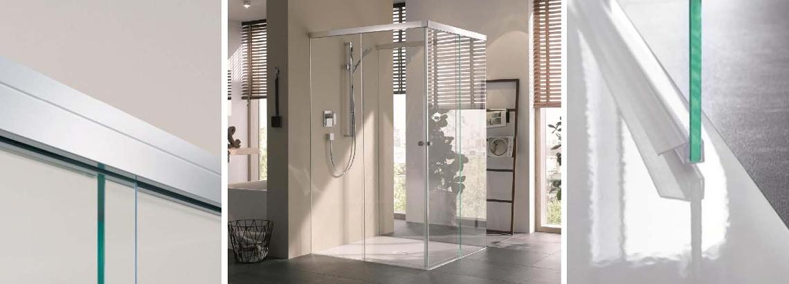 Duschschiebetür U-Form