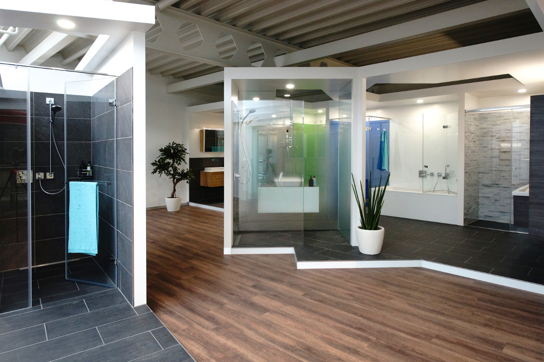Showroom Glas Haerry & Frey AG